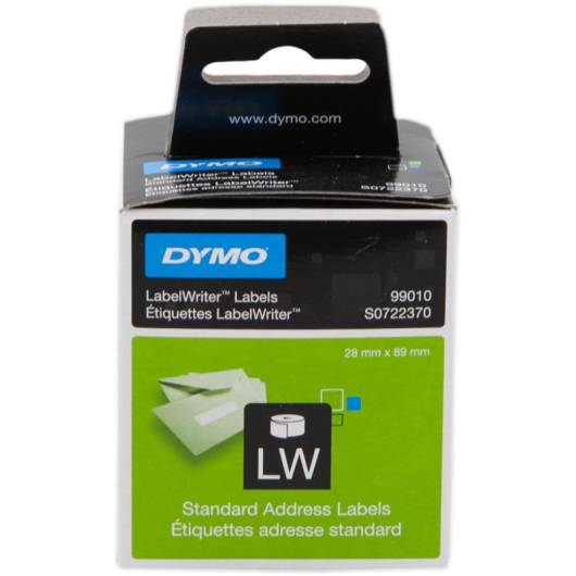 DYMO ADD.LABEL 89X28MM...